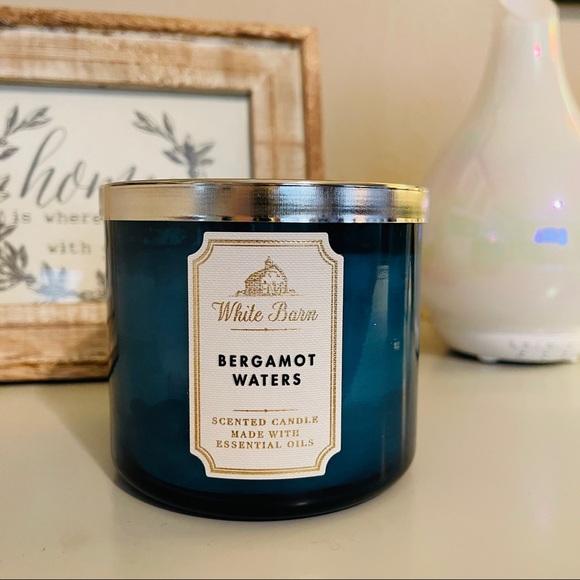 NWT Bath & Body Works Bergamot Waters Candle